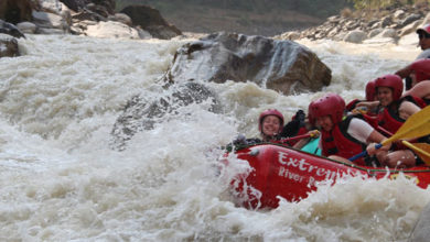 Extreme River Rafting