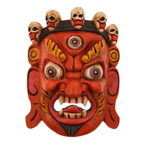 Bhairav Wooden Mask