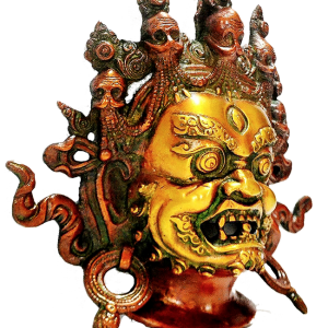 Mahakala Wooden Mask