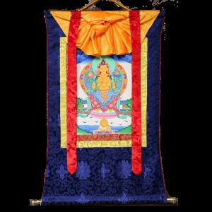 Maitreya Buddha Thangka Painting