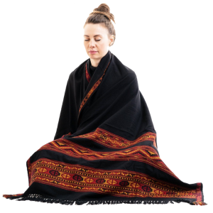 Meditation Cashmere Shawl
