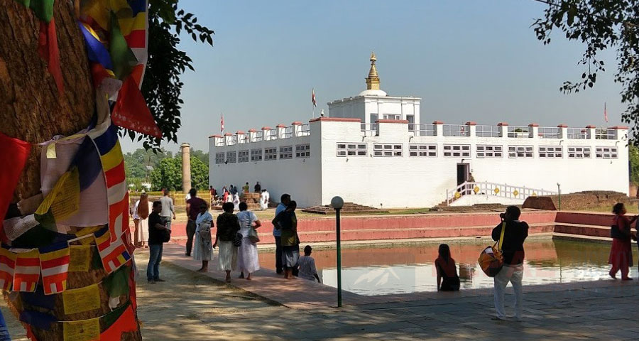 Lumbini - The birthplace of Buddha