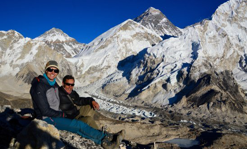 Best View of Mount Everest from Kala Patthar (18,208ft/5,550m)
