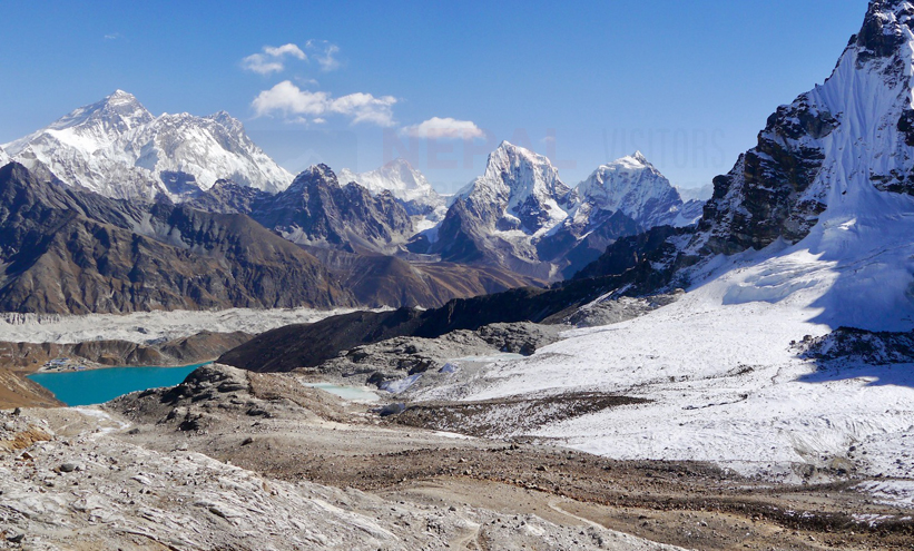 Best View of Mount Everest from Gokyo Ri