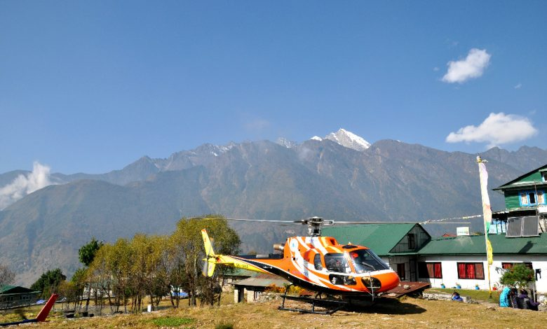 Day Helicopter Tour to Everest Base Camp
