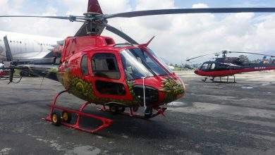 Photo of Fishtail Air Helicopter
