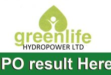 Photo of IPO allotment of Greenlife Hydropower Limited
